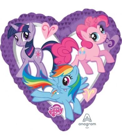 "24797 My Little Pony Heart (18"")"