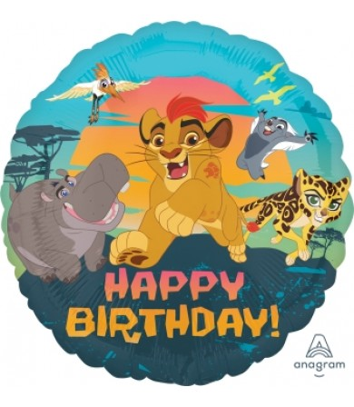 "34644 Lion Guard Happy Birthday (18"")"