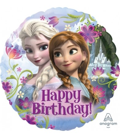 "29009 Frozen Happy Birthday (18"")"