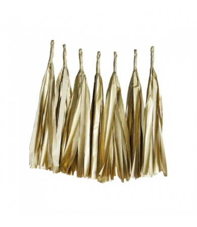 Paper Tassel - Metallic Colour Paper