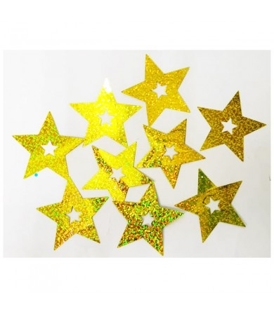 Decor Shining Star c/w Ribbon
