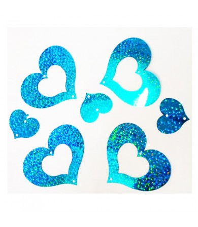 Decor Shinning Heart c/w Ribbon