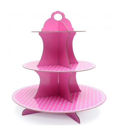 Cupcake Stand - Dots