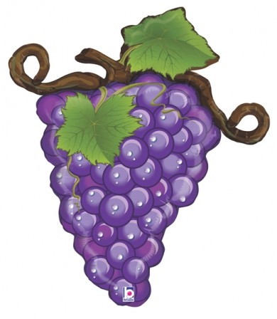 "35374P Linky Grapes - Purple (31"")"