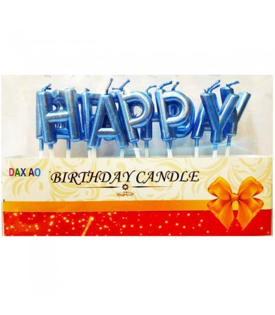 Candle - Happy Birthday ( Metallic )