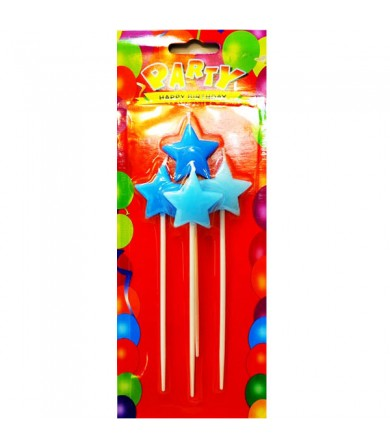 Candle - Star c/w Stick