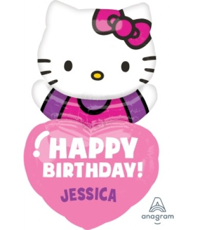 "29654 Hello Kitty® Happy Birthday (19"")"