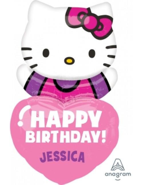 29654 Hello Kitty® Happy Birthday - SuperShape