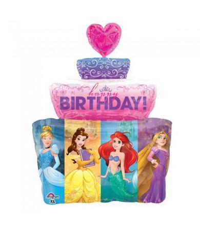 33932 Multi-Princess Cake - SuperShape