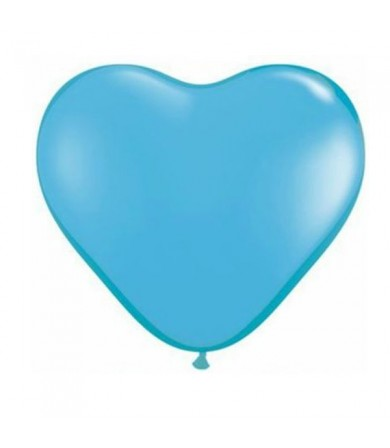 "Atex 12"" Heart Shaped Fashion Light Blue (002)"