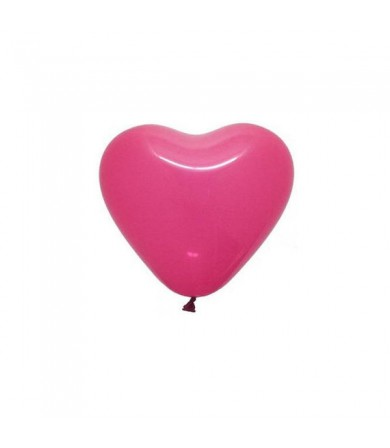 "Atex 5"" Heart Shaped Fashion Fuchsia"