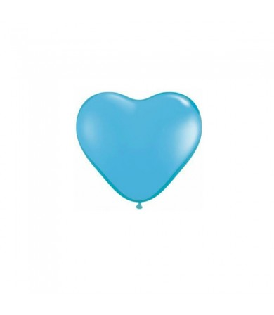 "Atex 5"" Heart Shaped Fashion Light Blue"