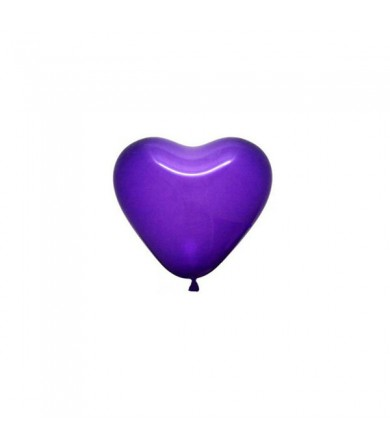 "Atex 5"" Heart Shaped Fashion Violet"