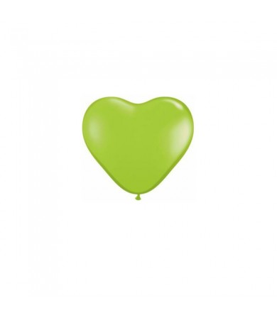 "Atex 5"" Heart Shaped Fashion Lime Green"