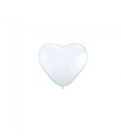 "Atex 5"" Heart Shaped Crystal Clear"