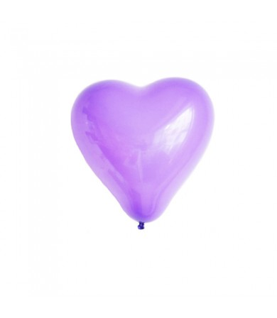 "Atex 5"" Heart Shaped Fashion Lavender"