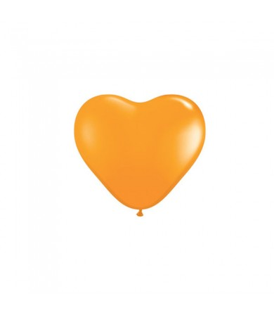"Atex 5"" Heart Shaped Fashion Orange"