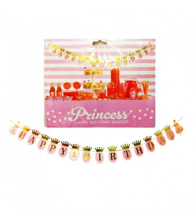 Party Flag - Princess Happy Birthday