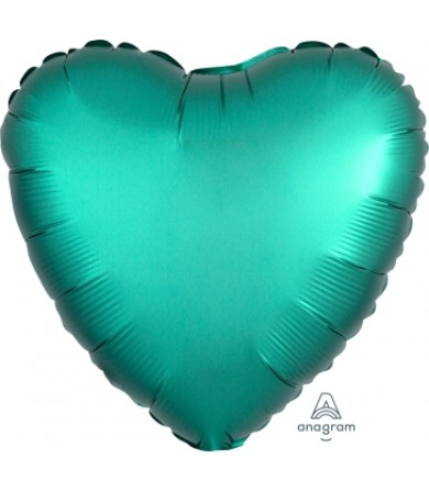 "36799 Satin Luxe™ Jade Heart (18"")"