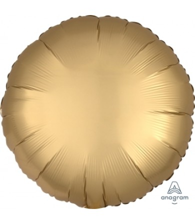 "36801 Satin Luxe™ Gold Sateen Circle (18"")"