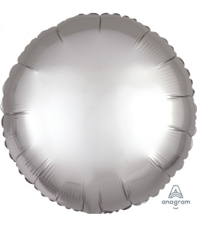 "36805 Satin Luxe™ Platinum Circle (18"")"