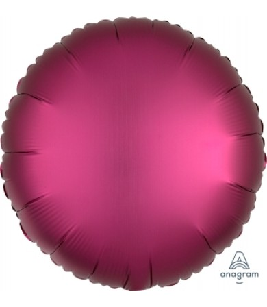 "36827 Satin Luxe™ Pomegranate Circle (18"")"