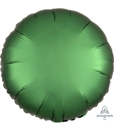 "38586 Satin Luxe™ Emerald Circle (18"")"