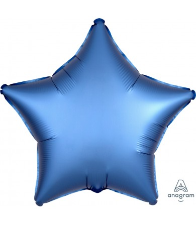 "36811 Satin Luxe™ Azure Star (18"")"