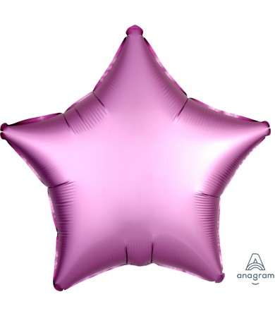 "36823 Satin Luxe™ Flamingo Star (18"")"