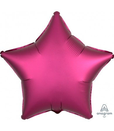 "36829 Satin Luxe™ Pomegranate Star (18"")"