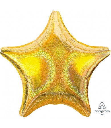 "11227 Gold Dazzler™ Star  (19"")"