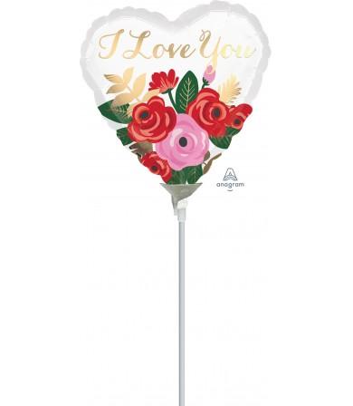 """38801 Rose Bouquet (9"""")"""