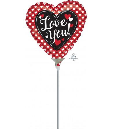 "38802 Heart to Heart Love (9"")"