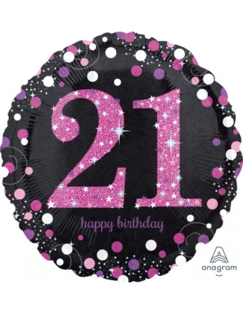 """33784 Pink Celebration 21 (18"""")"""