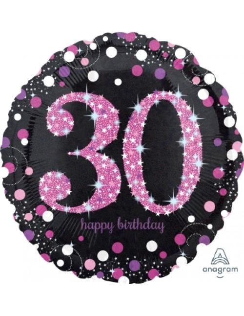 """33785 Pink Celebration 30 (18"""")"""
