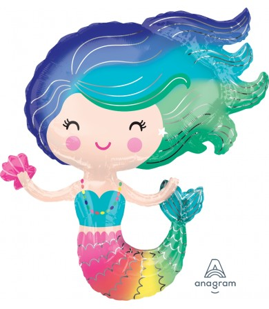 38472 Colorful Mermaid - SuperShape