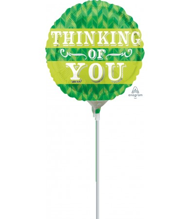 "28885 Green Chevron Thinking Of You (4"")"