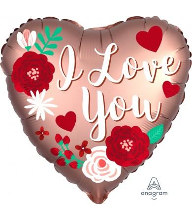 """38731 Satin Rose Copper Love (18"""")"""