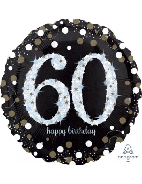 "32132 Sparkling Birthday 60 (18"")"