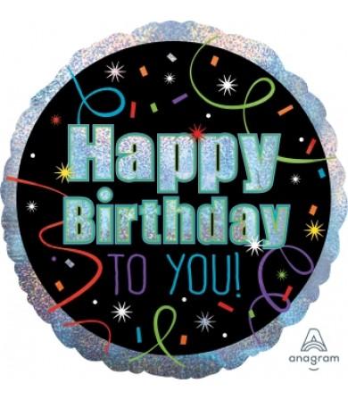 "32115 Brilliant Birthday (18"")"