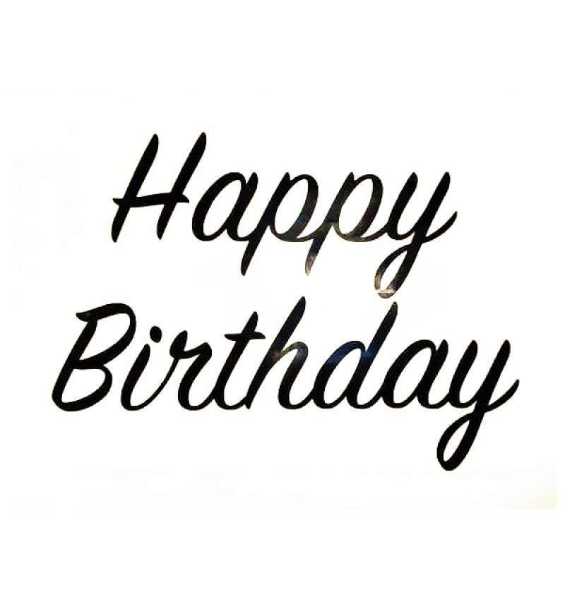 Sticker - Happy Birthday ( Small ) - 1pc