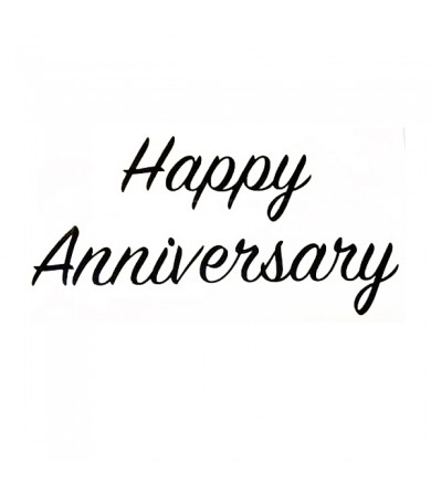 Sticker - Happy Anniversary - 1pc