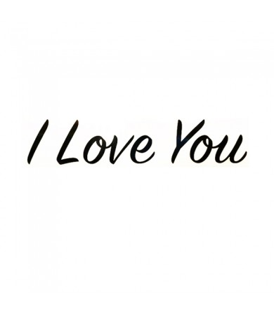 Sticker - I Love You ( Small ) - 1pc