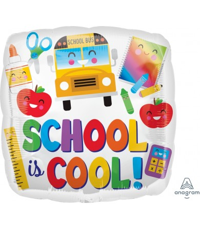 "38165 Colorful School is Cool (18"")"