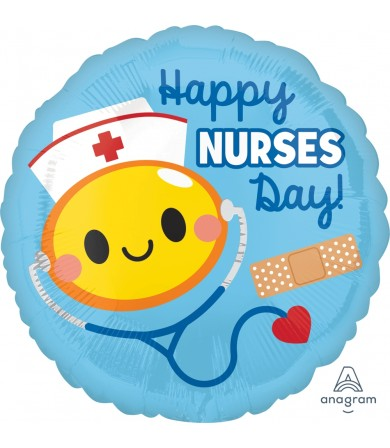 "37093 Happy Nurses Day (18"")"