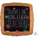 "32742 Wood Frame Black Board - Teacher (32"")"