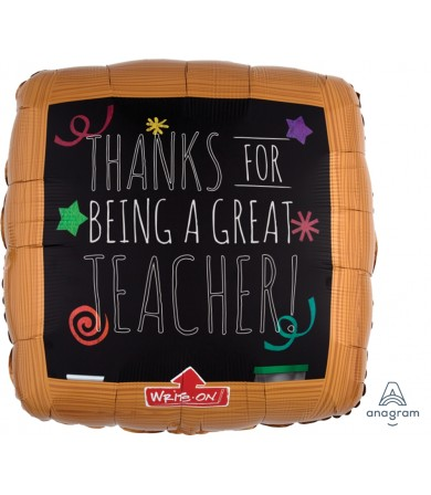 "32742 Wood Frame Black Board - Teacher (32"")"