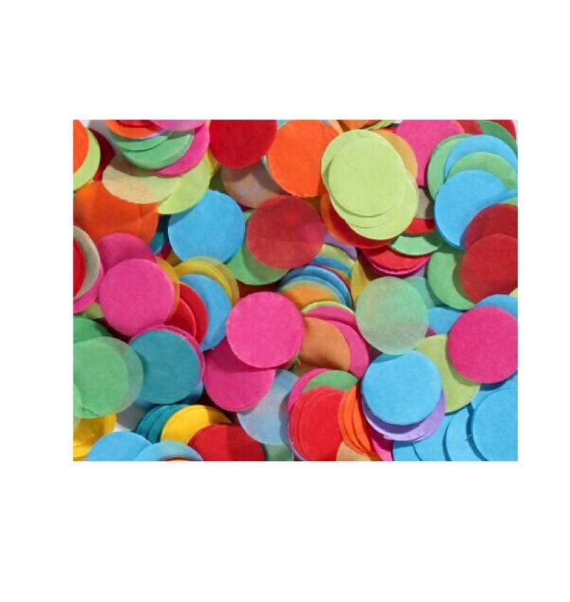 Confetti Paper - 25mm Round Paper