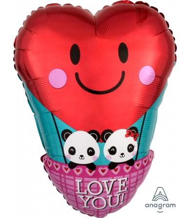 "36428 Panda Love (18"")"