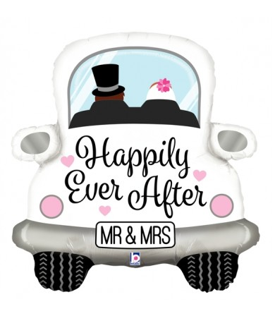 """35588P Happily Ever After Car (31"""")"""